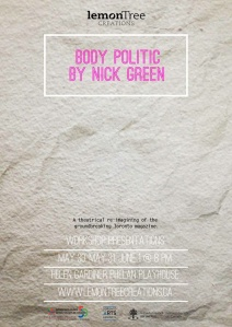 Body Politic workshop poster