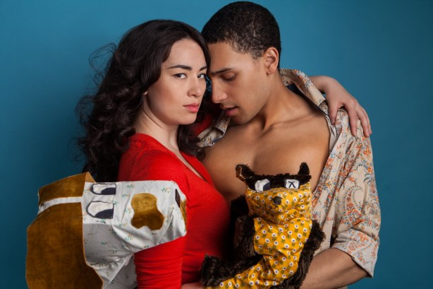 WEBSITE-PREFERENCE_Family-Story-Kaleb-Alexander-Cara-Gee-1.-Puppets-Allie-Marshall.-Photographer-James-Di-Donato.-UNCROPPED