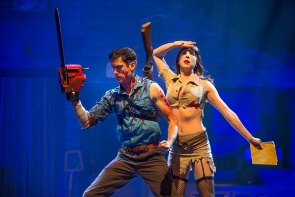 Ryan-Ward-and-Laura-Tremblay-in-Evil-Dead-The-Musical.-Photo-by-David-Hou