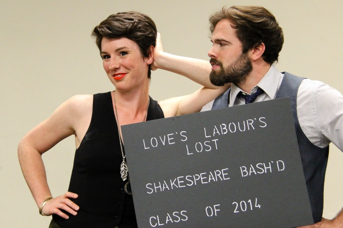 Love's Labour's Lost - Suzette McCanny and Jeff Hanson - Photo Credit: Jesse Griffiths & Kyle Purcell