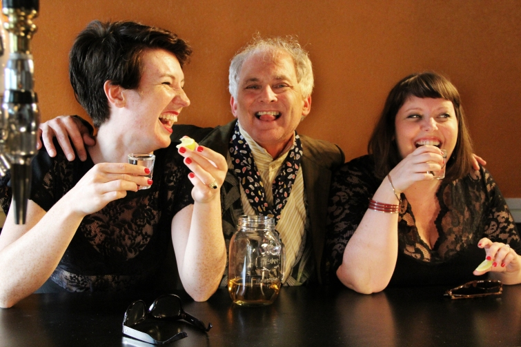 Merry Wives of Windsor - Suzette McCanny, Sean Sullivan, Julia Nish-Lapidus - photo by Madison Golshani, Daniel Pascale