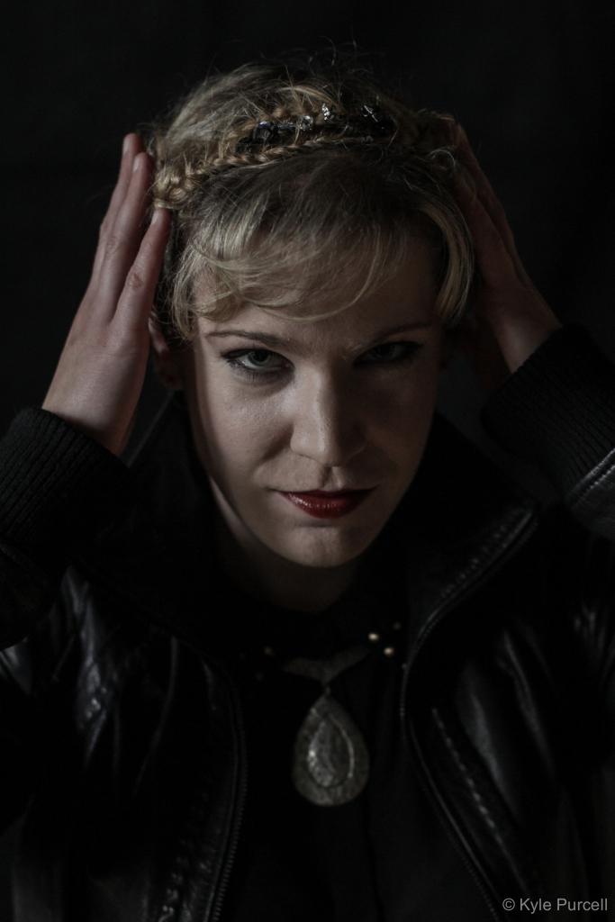 Lesley Robertson as King John. Photo Credit: Kyle Purcell
