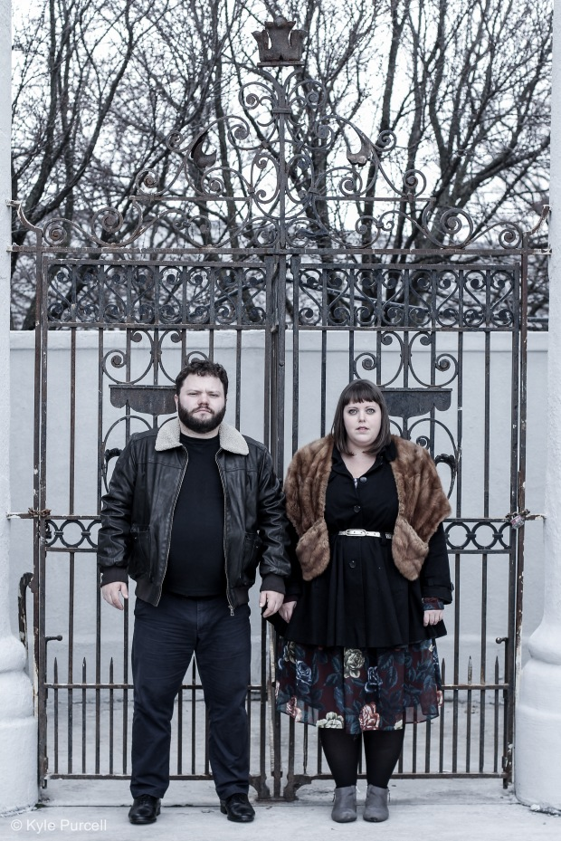 Photo of James Wallis & Julia Nish-Lapidus by Kyle Purcell.