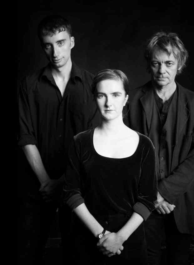 Photo of Simon Bracken, Erin Humphry & Richard Sheridan Willis by Shaun Benson