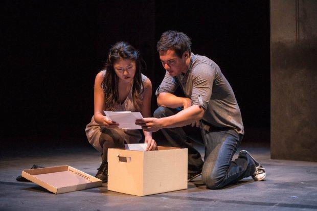 Photo of Rosie Simon & David Yee by Dahlia Katz